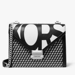 Michael Kors Bags - NWT Whitney Graphic-Logo Smooth Leather Bag